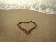 scritto sulla sabbia