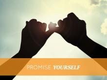 PROMETTI A TE STESSO di essere felice